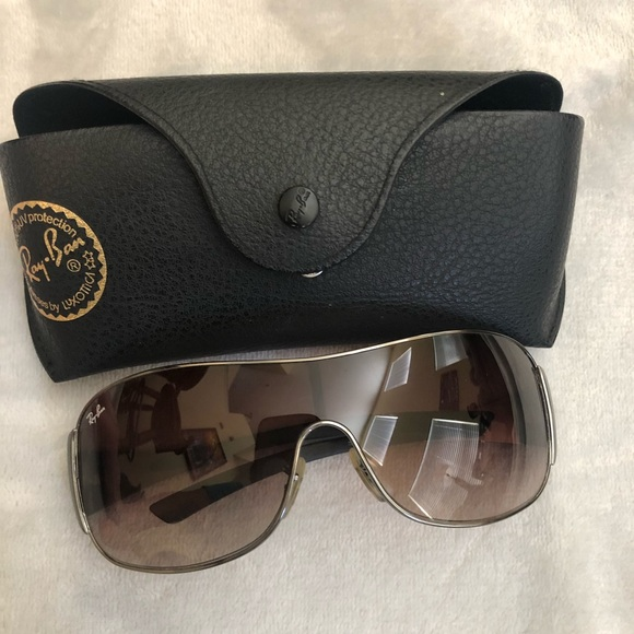 Gradient Ray Ban Shield Rb3321 Lenses Sunglasses dBEoQerCWx